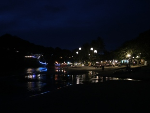 Une plage du sud by night
