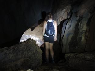Dans la seconde grotte